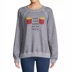 """Wildfox Sweatshirt """"Keep Your Hands Off My Friets"""""""